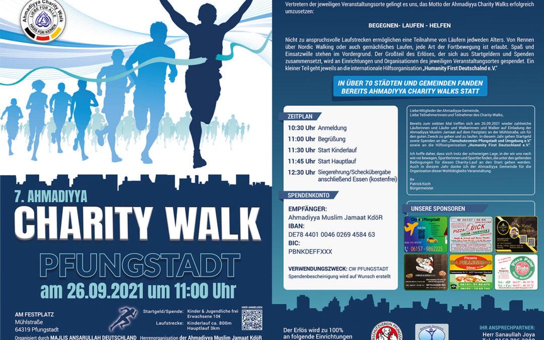 Charity Walk – Wir sind dabei